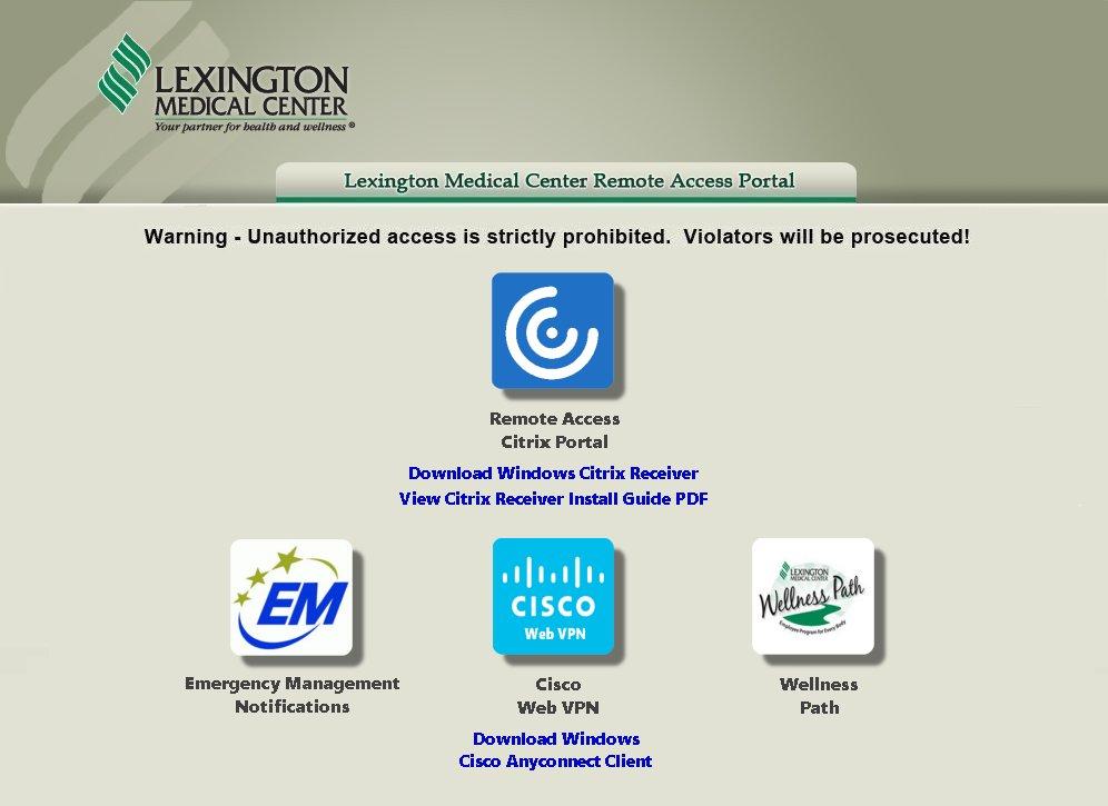 LMC Remote Access Portal